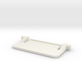 Keyboard Leg for Microsoft Wired 400 in White Natural Versatile Plastic