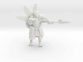 Greater Good Warrior Priest  in White Natural Versatile Plastic