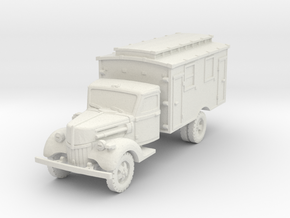 Ford V3000 Ambulance early 1/56 in White Natural Versatile Plastic
