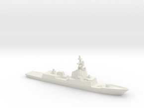 ESPS Álvaro de Bazán-class Frigate, 1/1250 in White Natural Versatile Plastic