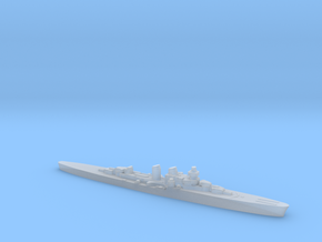 Giuseppe Garibaldi light cruiser 1:3000 WW2 in Smoothest Fine Detail Plastic