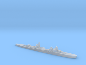 Duca d'Aosta light cruiser 1:3000 WW2 in Smoothest Fine Detail Plastic