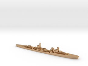 Duca d'Aosta light cruiser 1:3000 WW2 in Natural Bronze