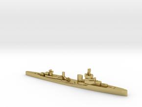 Bartolomeo Colleoni cruiser 1:3000 WW2 in Natural Brass