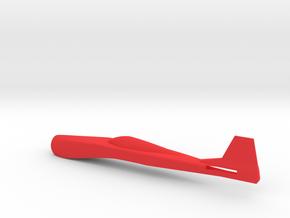 P-51 Strega fuselage in Red Processed Versatile Plastic