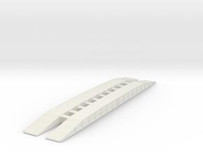 M60 AVLB Bridge 1/144 in White Natural Versatile Plastic