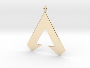 Apex Legends Pendant in 14K Yellow Gold
