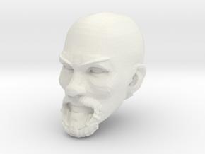 Safwan Head bald 1 in White Premium Versatile Plastic