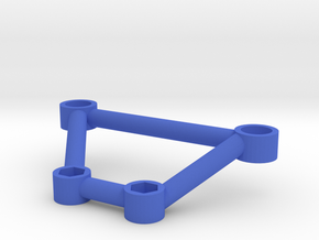 Thundershot Support Brace for 7mm Body Mount Posts in Blue Processed Versatile Plastic