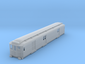 o-148fs-ner-d100-motor-luggage-van in Smooth Fine Detail Plastic