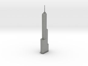 Trump Tower - Chicago (6 inch) in Gray PA12