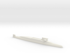 FS Redoutable-class SSBN, 1/1250 in White Natural Versatile Plastic
