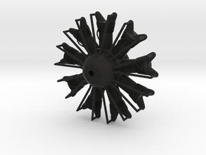 1/32 Pratt & Whitney R-1860 Hornet Aircraft Engine in Black Natural Versatile Plastic