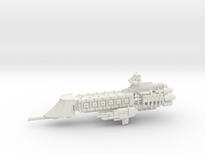 Imperial Escort - Concept C in White Natural Versatile Plastic