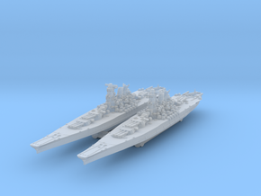 Yamato (1945) 1/4000 x2 in Smooth Fine Detail Plastic