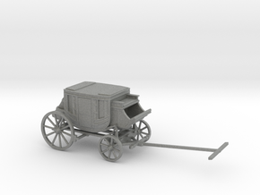 TT Scale Stagecoach in Gray PA12
