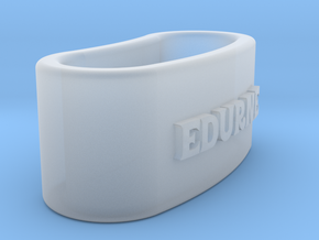 EDURNE 3D Napkin Ring with lauburu in Smooth Fine Detail Plastic