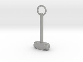 Sledgehammer Necklace in Aluminum