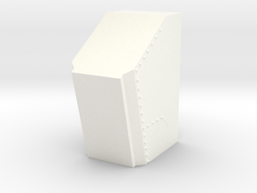F16 COCKPIT SKYMASTER (K) in White Processed Versatile Plastic