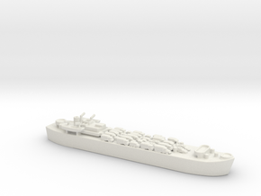 landing ship tank MK3 LST MK3 1/1200 2  in White Natural Versatile Plastic