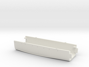1/700 USS Kentucky BBAA-66 Full Hull - Midships in White Natural Versatile Plastic
