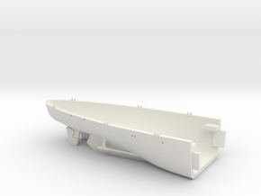 1/700 USS Kentucky BBAA-66 Full Hull - Stern in White Natural Versatile Plastic