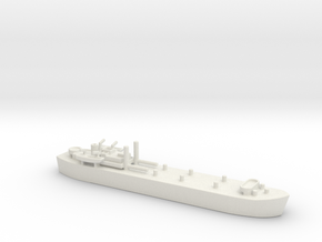 landing ship tank MK3 HMS MESSINA LST 3043 1/600 in White Natural Versatile Plastic
