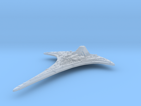 Ancient Ship (120mm with shuttle) in Smooth Fine Detail Plastic