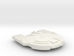 3788 Scale Andromedan Python Satellite Ship SRZ in White Natural Versatile Plastic
