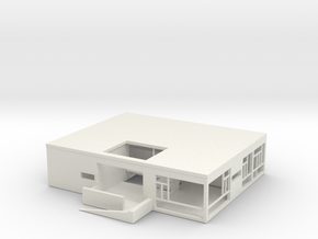 Printle Thing Villa - 1/350 in White Natural Versatile Plastic
