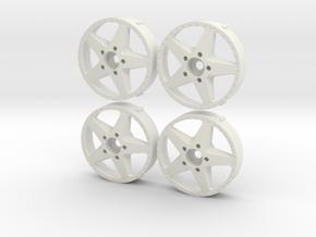 4 MST inner Makuni Work Equip replica in White Natural Versatile Plastic