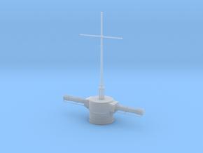 1/100 DKM Gneisenau - Aft Rangefinder in Smooth Fine Detail Plastic