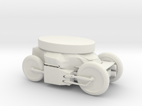 Printle Thing Vehicle 02 - 1/48 in White Natural Versatile Plastic