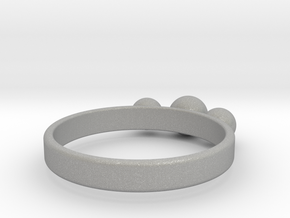 3 Eye Ring in Aluminum
