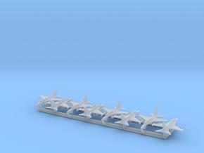 KAI T-50 w/Gear x8 (FUD) in Smooth Fine Detail Plastic: 1:700