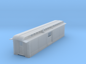 D&RGW Modern Baggage Car Body only NO DELCO PLANT in Smooth Fine Detail Plastic
