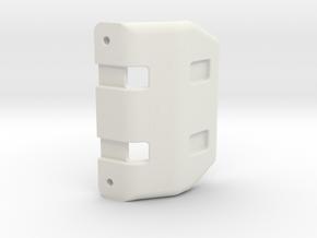 EGT rear bumper in White Natural Versatile Plastic