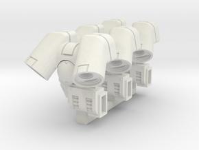 Suppressor Jump Pack (Multiplex3) in White Natural Versatile Plastic
