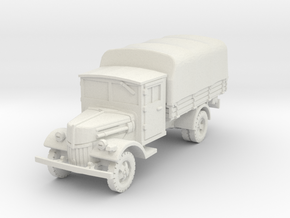 Ford V3000 late (covered) 1/87 in White Natural Versatile Plastic