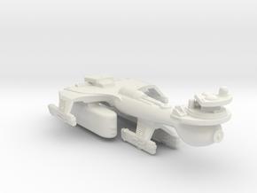 3125 Scale Klingon B10T Emergency Battleship WEM in White Natural Versatile Plastic