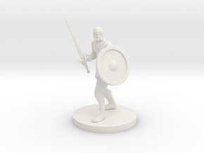 Guard in White Natural Versatile Plastic
