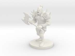 Orc in White Natural Versatile Plastic