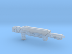 Earth Wars Laser Rifle (5mm) in Smooth Fine Detail Plastic