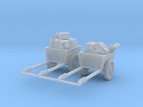 Post apocalypse 2x Cargo_set in Smooth Fine Detail Plastic
