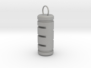Pill Keychain in Aluminum