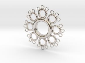 Fractal Donut in Platinum