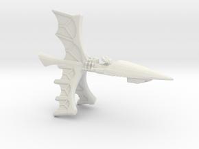 Eldar Craftworld Escort - Concept A  in White Natural Versatile Plastic