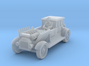 post apocalypse classic car in Smooth Fine Detail Plastic