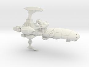 Torture Class Cruiser - Concept C  in White Natural Versatile Plastic
