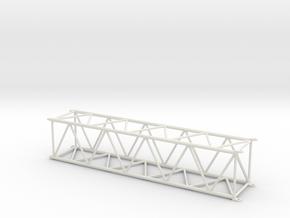 LG-LR1750 MAIN BOOM 14MT in White Natural Versatile Plastic